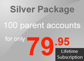 Package Silver (100 Parent Accounts)